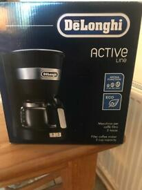 Delonghi active coffee machine