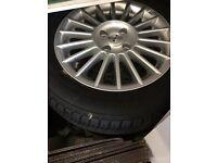 Vauxhall. Alloy wheels