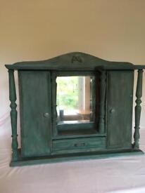Victorian Mirrored Cupboard