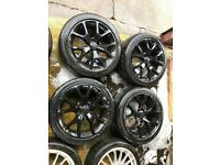 "18"" GENUINE VAUXHALL VXR ALLOY WHEELS ASTRA VECTRA ZAFIRA SET OF 4"