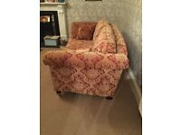 2 seater sofa and armchair in excellent condition.