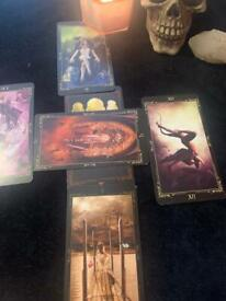 Full spread tarot reading past present and future