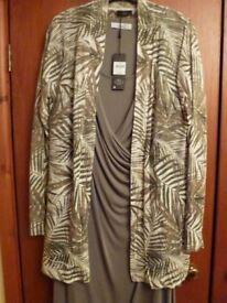 Ladies dress and jacket - new