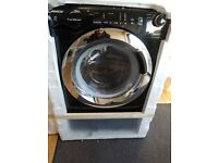 Candy GVSW496DCAB Smart Touch 9kg Wash, 6kg Dry, 1400 Spin Washer Dryer - Black