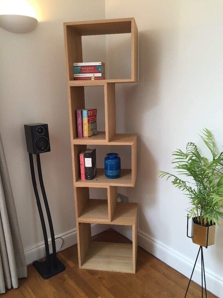 Tall oak shelving unit contemporary bookcase Conran M  : 86 from www.gumtree.com size 768 x 1024 jpeg 94kB