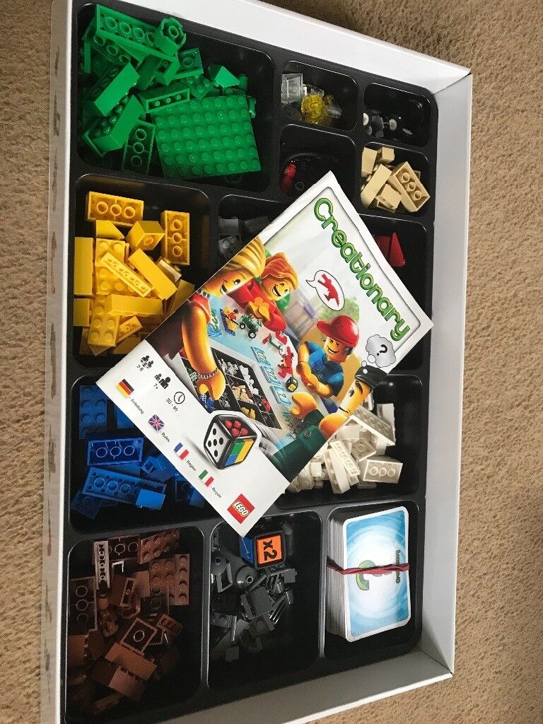 Lego Creationary Game Complete With Instructions In Redhill