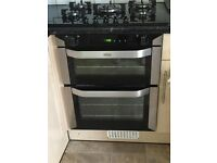 Belling double oven and grill - 2 months old