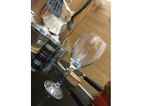 Set of 6 wine glasses (soft drinks, cocktails)