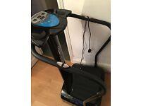 Crazy fit massage workout vibrate plate