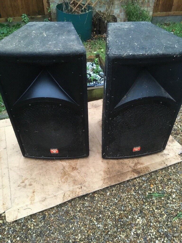 Cerwin vega pa speakers