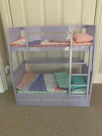 Our generation doll bunk beds