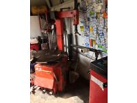 Gs boxer snap on tyre machine changer