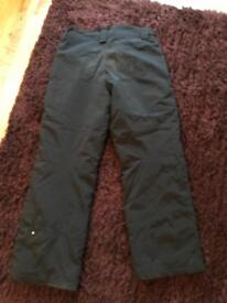 Men's Snowboarding Trousers - Large