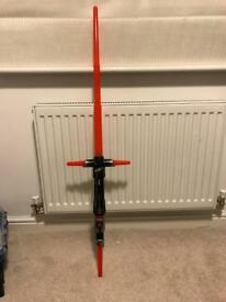 Star Wars Light Saber ex condition