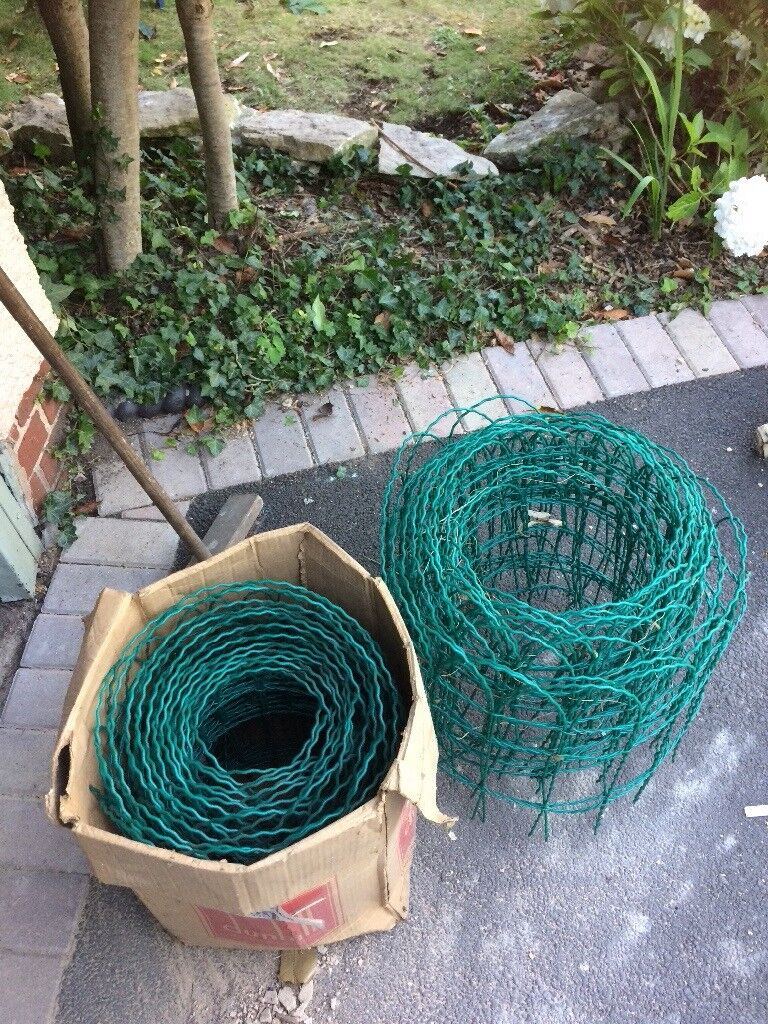 PVC coated wire mesh garden fencing   in Stroud, Gloucestershire ...