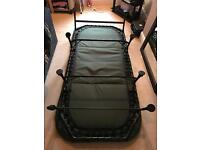 Theseus bed chair and trakker sleeping bag