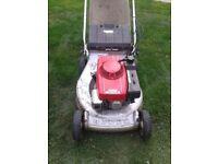 honda hr 216 2 speed self drive petrol lawnmower
