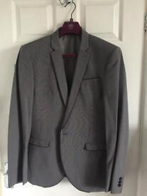 Next Light Grey Men's Suit - 42R