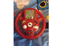 Steering wheel game