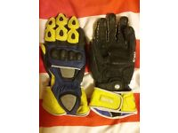Motorcycle gloves James Toseland replica size medium