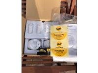 YALE EASY FIT EF-kit1 new boxed with batteries & manual 868mhz wirefree home alarm security system