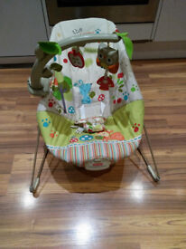Fisher-price Bouncer with music and vibration