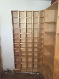Range of Ikea Billy Bookcases