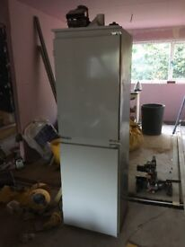 Indesit intergrated fridge freezer