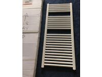 White towel rail brand new boxed 500x1200 inc fixing brackets