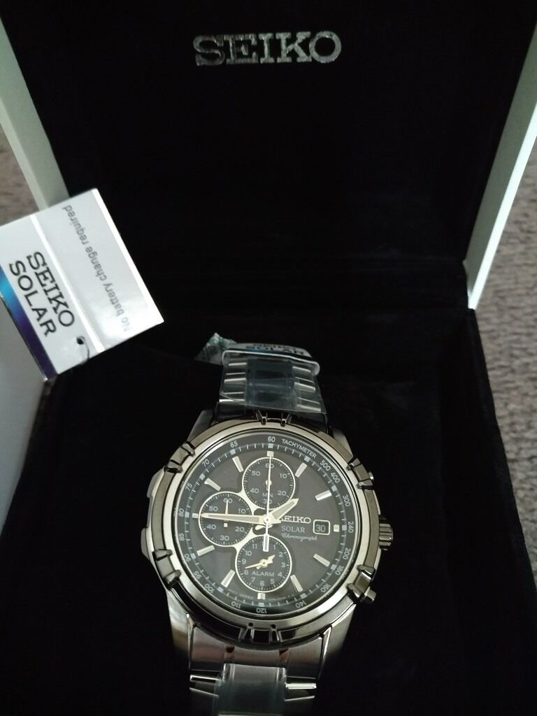 Seiko Mens Quartz Chronograph Solar Powered Watch SSC147P1Brand NewBoxed160in Sunderland, Tyne and WearGumtree - Seiko Mens Quartz Chronograph Solar Powered Watch SSC147P1 Brand New & Boxed £160 I can deliver if you live in the Sunderland area