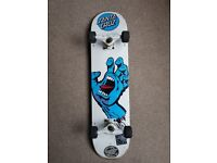 Santa Cruz Screaming Hand Complete Skateboard -7.75""