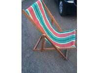Deck chair £15