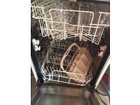 Intergraded slimline dishwasher,