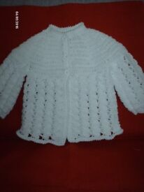 hand crocheted baby clothes