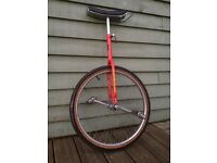 Old vintage Ring master unicycle