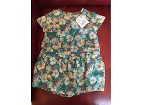 Brand new Zara baby girl dress (short) 18-24 month
