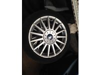 ford focus st170 wheels