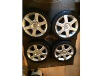 Wolfrace multifit wheels £90ono