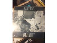Nirvana bleach rare vinyl