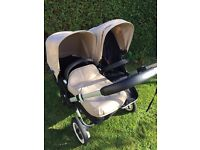 Bugaboo Donkey Duo Pram & Pushchair WITH CARRYCOT Excellent Condition