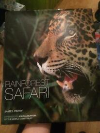 Large picture/fact book. Rainforest Safari.