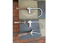 For sale used 3 kitchen taps
