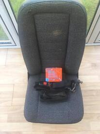 Land Rover 90 rear seat