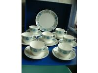 WEDGWOOD CLEMENTINE 18PC TEA SET
