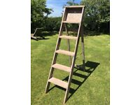"""WOODEN LADDER 70"""" (collection only, ideal for up-cycling)"""