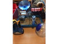 Hamster job lot cage and accessories