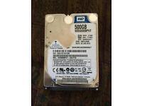 Hard drive 500 gb Laptops