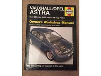Vauxhall Astra Haynes Manual 2004-2008
