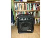 Bass amplifier. Spares or repair