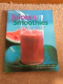 Juice and smoothies cookery book